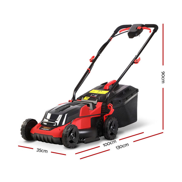 Electric Cordless Garden Lawn Mower-40V Lithium Battery-FREE SHIPPING