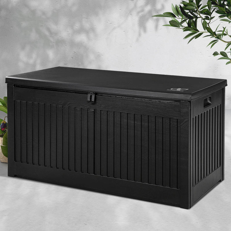 Outdoor Storage Box-270L-Black-FREE SHIPPING