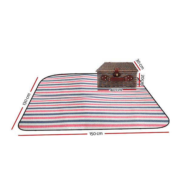 Alfresco 4 Person Picnic Basket-FREE SHIPPING
