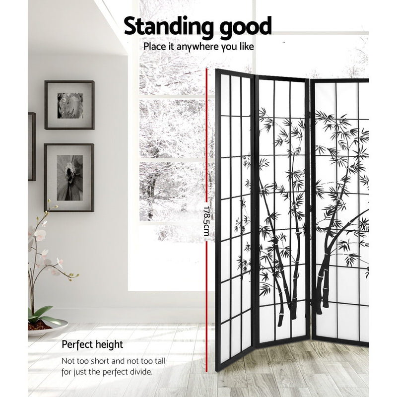 3 Panel Room Divider Screen-FREE SHIPPING
