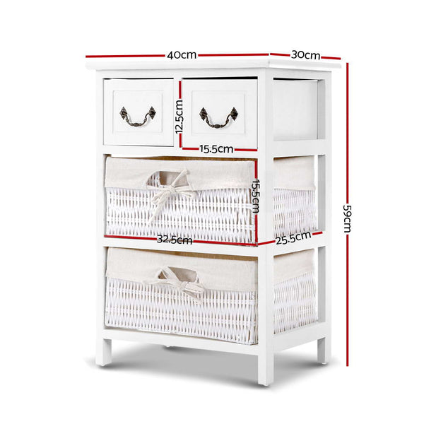 59cm High Storage Cabinet-BEDSIDE TABLE OR BATHROOM STORAGE-FREE SHIPPING