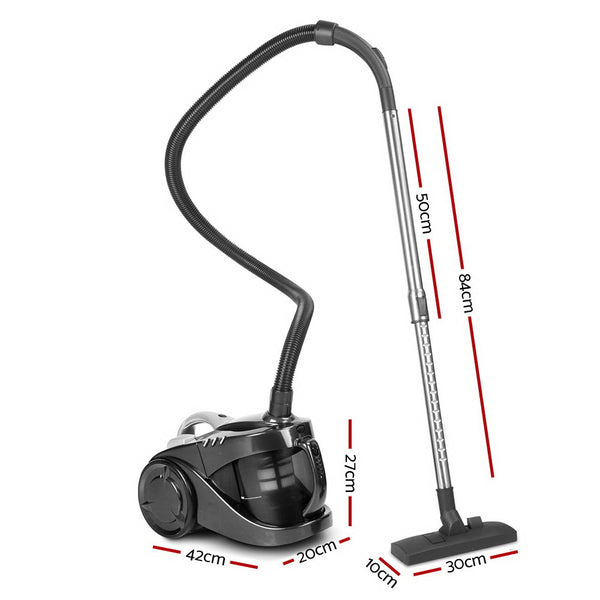 Bagless Vacuum Cleaner-2200W-Black-FREE SHIPPING