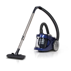 Devanti Vacuum Cleaner Bagless Cyclone Cyclonic Vac Home Office Car 2200W Blue""