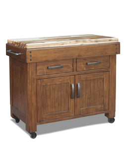 Tristal butchers work bench with hardwood top