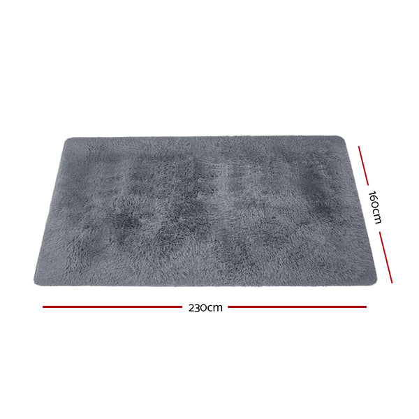 160cm x 230cm Floor Rug-Ultra Soft Shaggy-Anti-slip Area-FREE SHIPPING