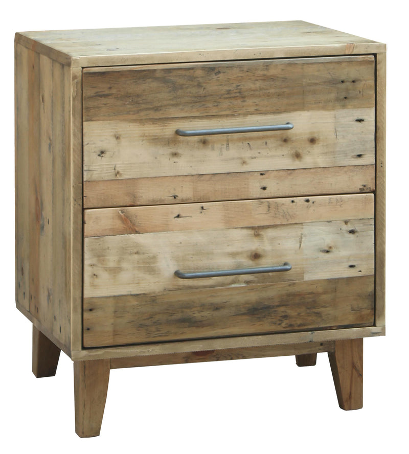 Luxem bedside  with 2 drawers