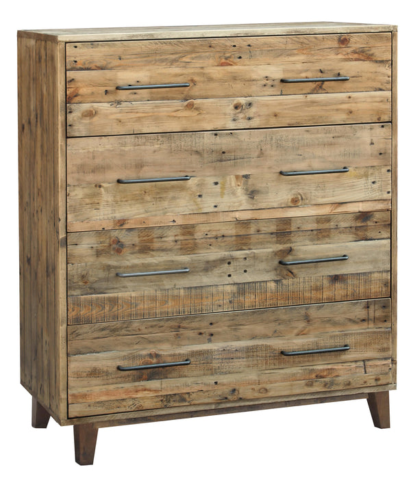 Luxem 4 Drawer Tallboy