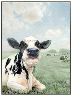 Chew Cow Canvas 120cm x 90cm