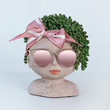 Load image into Gallery viewer, Cute Lady Planter - Handmade