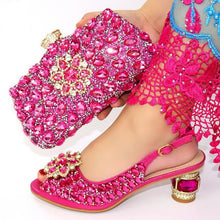 Load image into Gallery viewer, Hvar Ksata High Heel Women Shoes and Bags Set