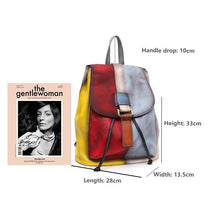 Load image into Gallery viewer, Hedwig Leather Backpack