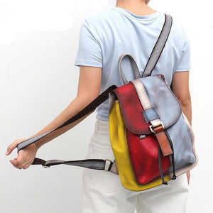 Hedwig Leather Backpack