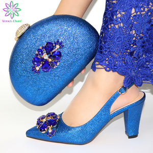 Venus High Heel Women Shoes and Bags Set