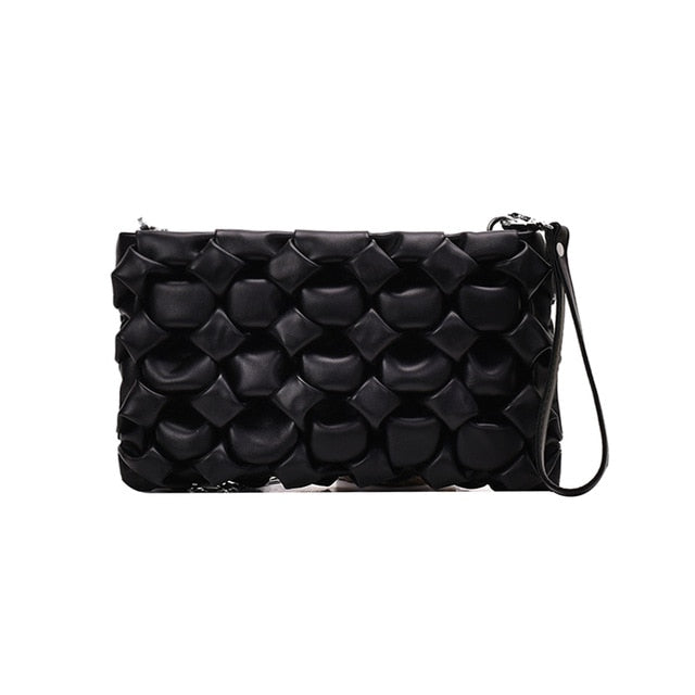 El Cajon Crossbody Metal Chain Bag