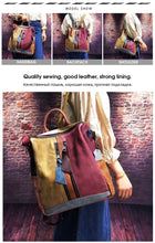 Load image into Gallery viewer, BE YOU LEATHER BACKPACK