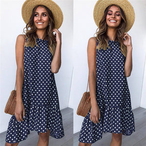 SLEEVELESS SUMMER DRESS