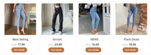 Load image into Gallery viewer, STYLISH JEANS