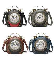 Load image into Gallery viewer, Adrianna Clock Crossbody Bag