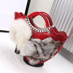 Female Fox Handbag