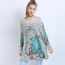 Load image into Gallery viewer, Abella Oversize Long Sleeve Shirt