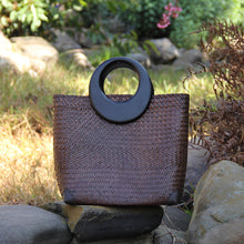 Load image into Gallery viewer, Aurelia Rattan Bag