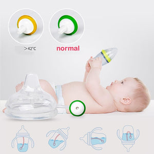 Revolutionary Hands-Free Feeding Bottle
