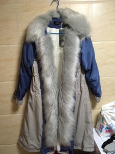 Myra Fur Lined Trench Coat