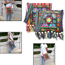 Load image into Gallery viewer, Maya Boho Handcrafted Crossbody Bag