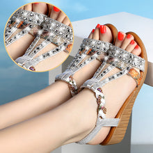 Load image into Gallery viewer, Annabel Wedge Sandals