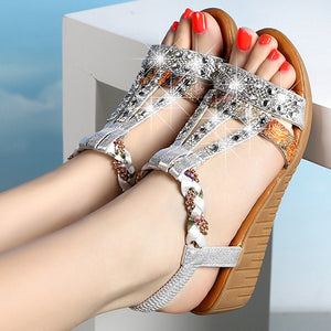 Annabel Wedge Sandals