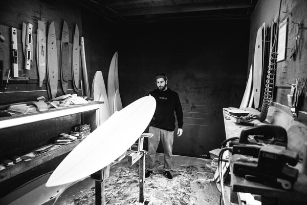 Wade Carmichael Rusty surfboards