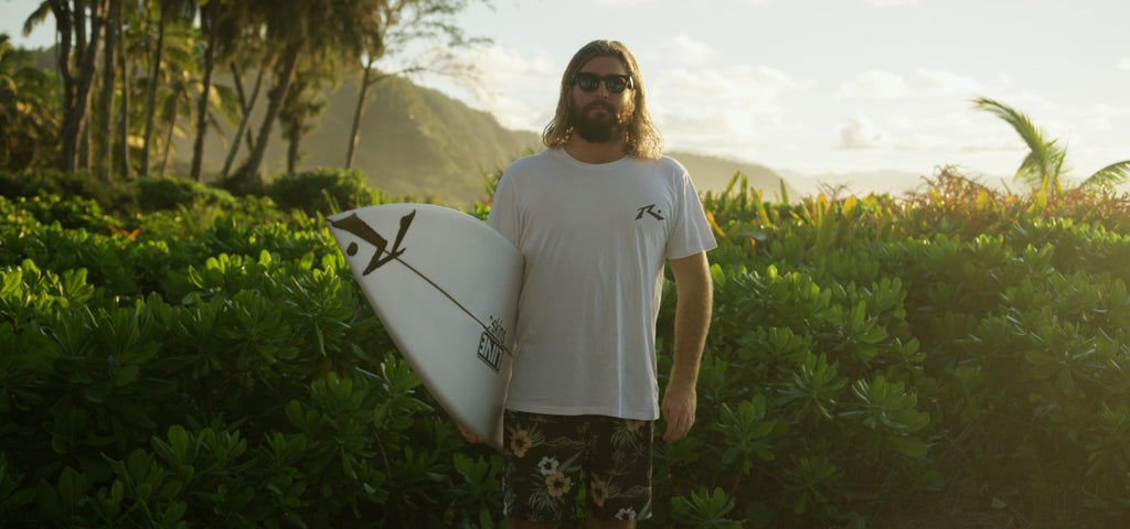 Rusty team rider Wade Carmichael in Hawaii