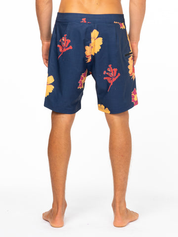 Lofi Taped Boardshort - Navy Blue