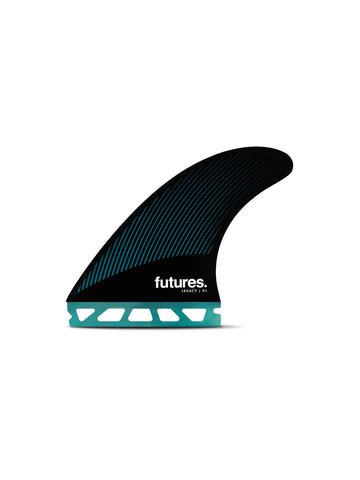 Futures R6 HC Thruster - Raked Fins