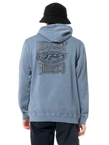Right Wing Hood Fleece - China Blue