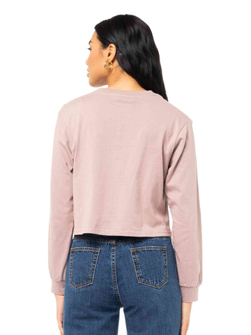 Rusty Must Essentials Long Sleeve Tee - Lilac Dusk