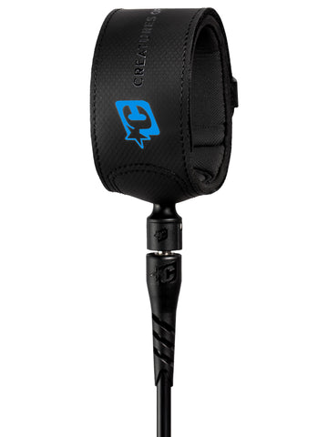 Creatures Of Leisure Superlite Pro 6 Leash - Black Cyan