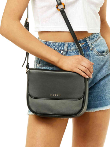 Beverly Crossbody Bag - Black