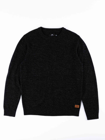 Skyliner Crew Neck Knit Boys - Black 1