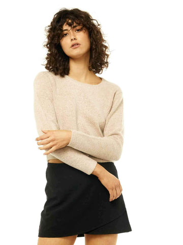 Together Crew Neck Knit - Sable