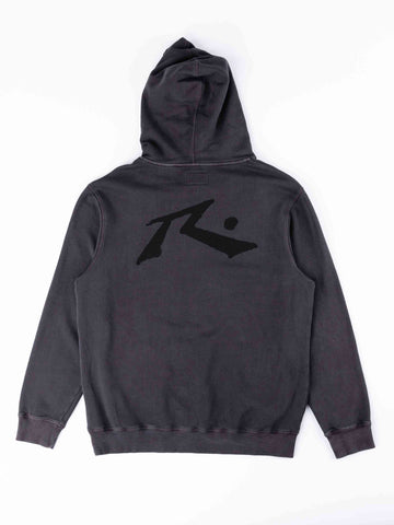 Comp Wash Hood Fleece Boys - Coal