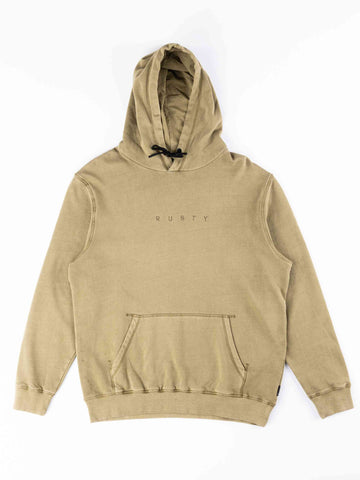 Special Cut Hood Fleece Boys - Covert Green