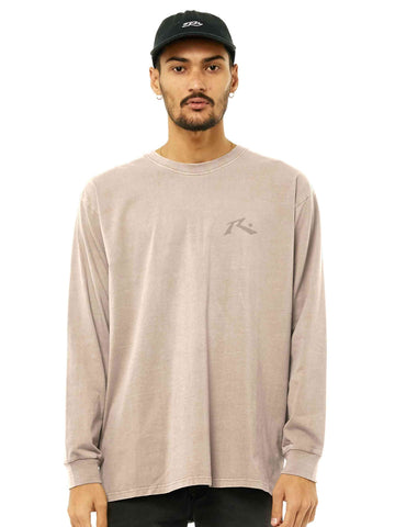 One Hit Hemp Long Sleeve Tee - Beige Fog