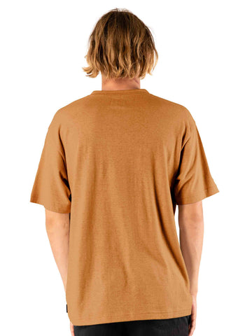 One Hit Hemp Short Sleeve Tee - Camel