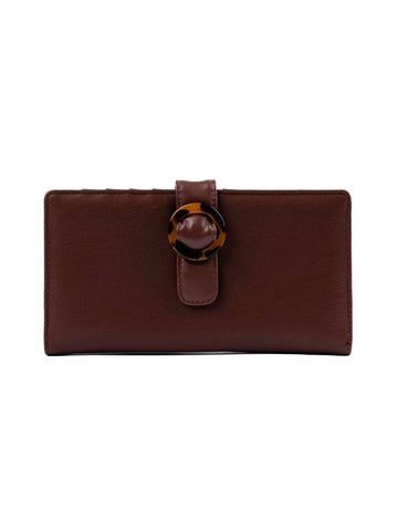 Beverly Flap Wallet - Tortoise Shell