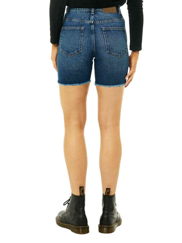 All Day Long Denim Short - Royal Blue
