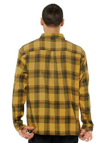 Thief Long Sleeve Shirt - Ochre