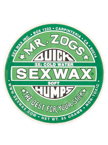 Quick Humps Cool Surfboard Wax