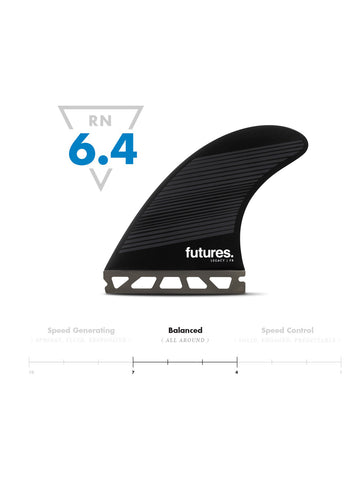 Futures F8 HC Thruster - Neutral Fins
