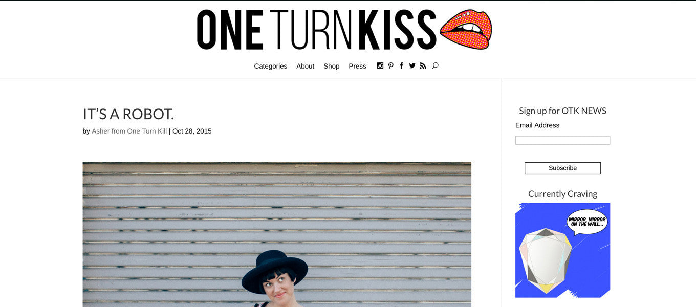 STREET STYLE // ONE TURN KISS